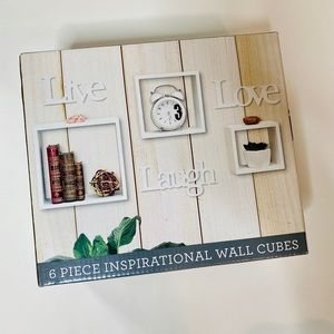 Home Inspirational Wall Cubes